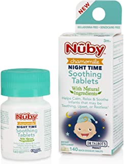 Dr. Talbot's Night Time Chamomile Soothing Tablets, Naturally Inspired, Quick Dissolve, 140 Count