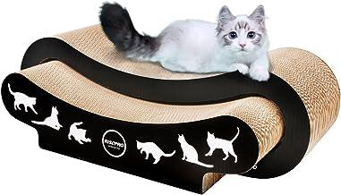 RISEPRO Cat Scratcher, 2-in-1 Cat Scratcher Cardboard, Cat Sofa, Cat Scratching Pad, Cat Furniture, Cat Bed, Cat Scratchin...
