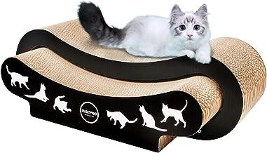 RISEPRO 2-in-1 Ultimate Cat Scratching Cardboard, Cat Scratcher, Cat Lounge, Cat Sofa, Corrugated Cardboard