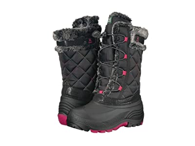 Kamik Kids Star (Toddler/Little Kid/Big Kid) (Black/Rose) Girls Shoes