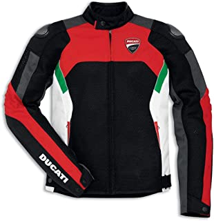 Ducati Corse Perforated Textile Fabric Motorcycle Jacket (EU 54 - US 44)