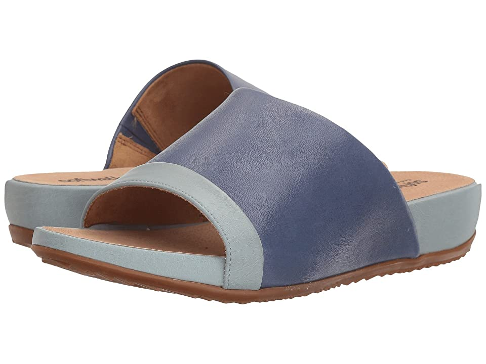 SoftWalk Del Mar (Blue/Light Blue) Women