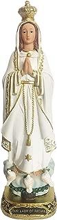Our Lady of Fatima Statue Catholic Virgin Virgen Santa Fatima Estatua (8 Inch)
