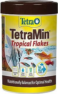 Tetra TetraMin Tropical Flakes 3.53 Ounces, Nutritionally Balanced Fish Food, Model Number: 16204