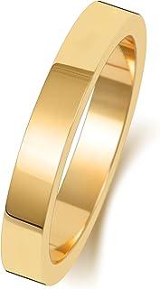 Anello Fede Nuziale Uomo/Donna 3mm in Oro giallo 9k (375) WJS188469KY
