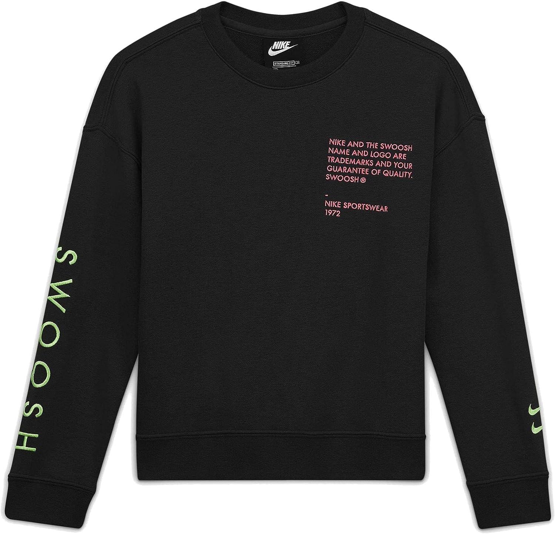 Nike Kids' (Boys') Swoosh Crew Neck Sweatshirt