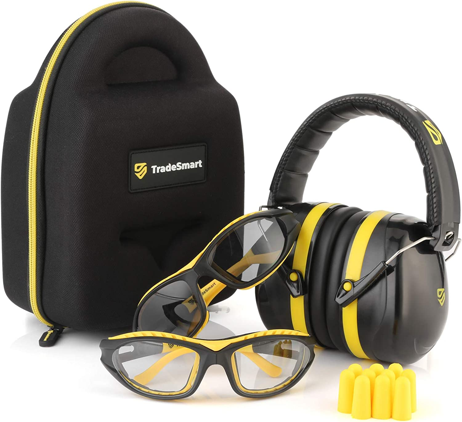 TRADESMART Shooting Range Earmuffs and – Safety Glasses New mail order Popular overseas Eye