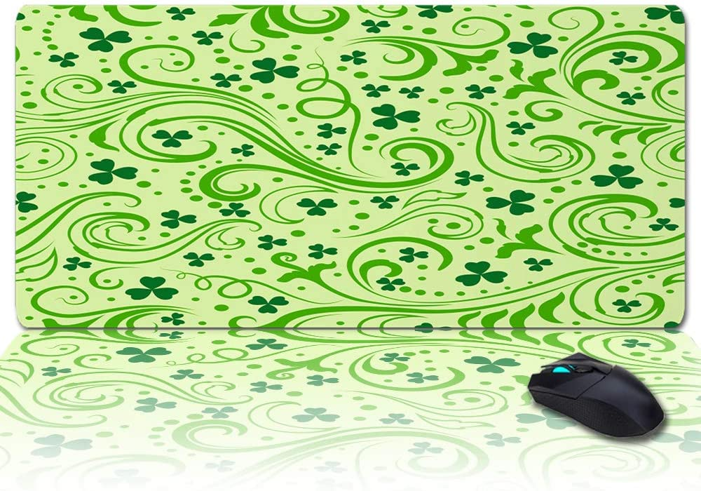 Large Desk Pad 35x15INCH Oversized Clover Store Curv Writing Soft Minneapolis Mall