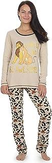 comprar comparacion Disney Pijama Rey León para Mujer, Pijama Mujer, Pijama De 2 Piezas con Manga Larga Y Leggings con Estampado Animal, Ropa ...