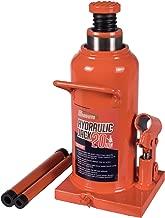 BAISHITE Welding Hydraulic Bottle Jack 20 Ton Capacity Orange