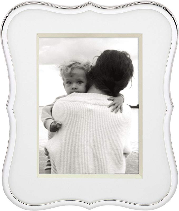Kate Spade New York Crown Point Silver Plate Picture Frame 5 X 7