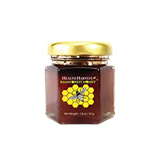 Tualang Red Honey 1.8oz Tasting Jar | Multiple Awards-Winning | Total Activity 8+ | Pollen 100+ | Moderate Choice for Adul...