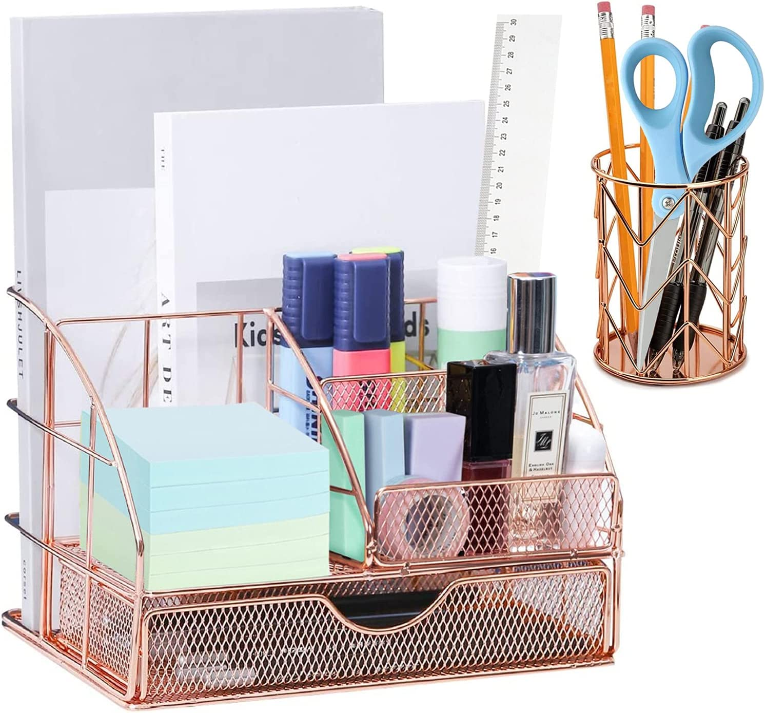 Desk Organizers and Accessories for All In Elegant MetalM Max 87% OFF One Women