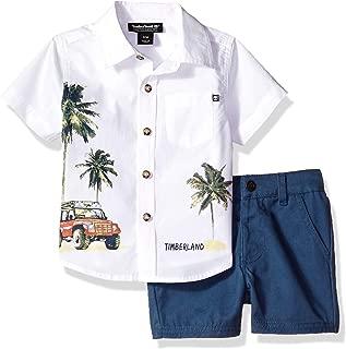 Baby Boys 2 Pieces Shirt Shorts Set
