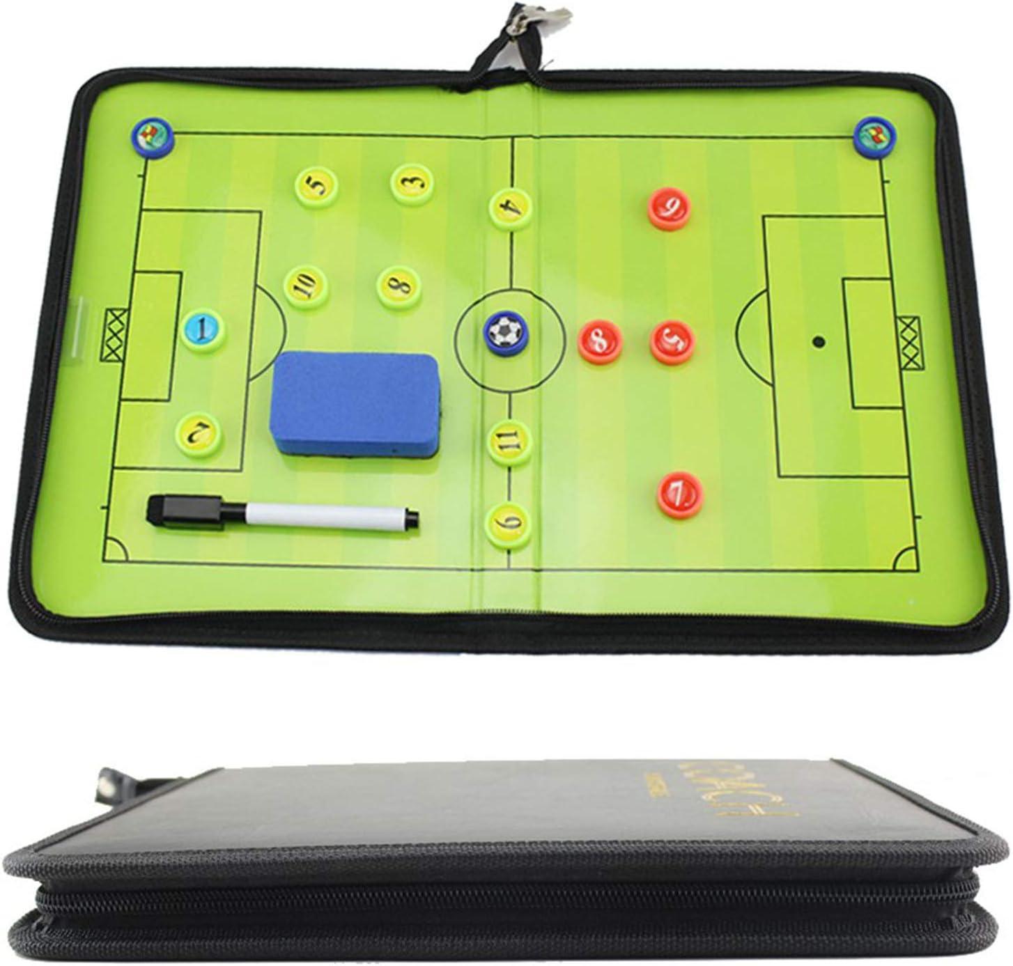 Portable Professional Football Tactics Board Magnetic Coaching B