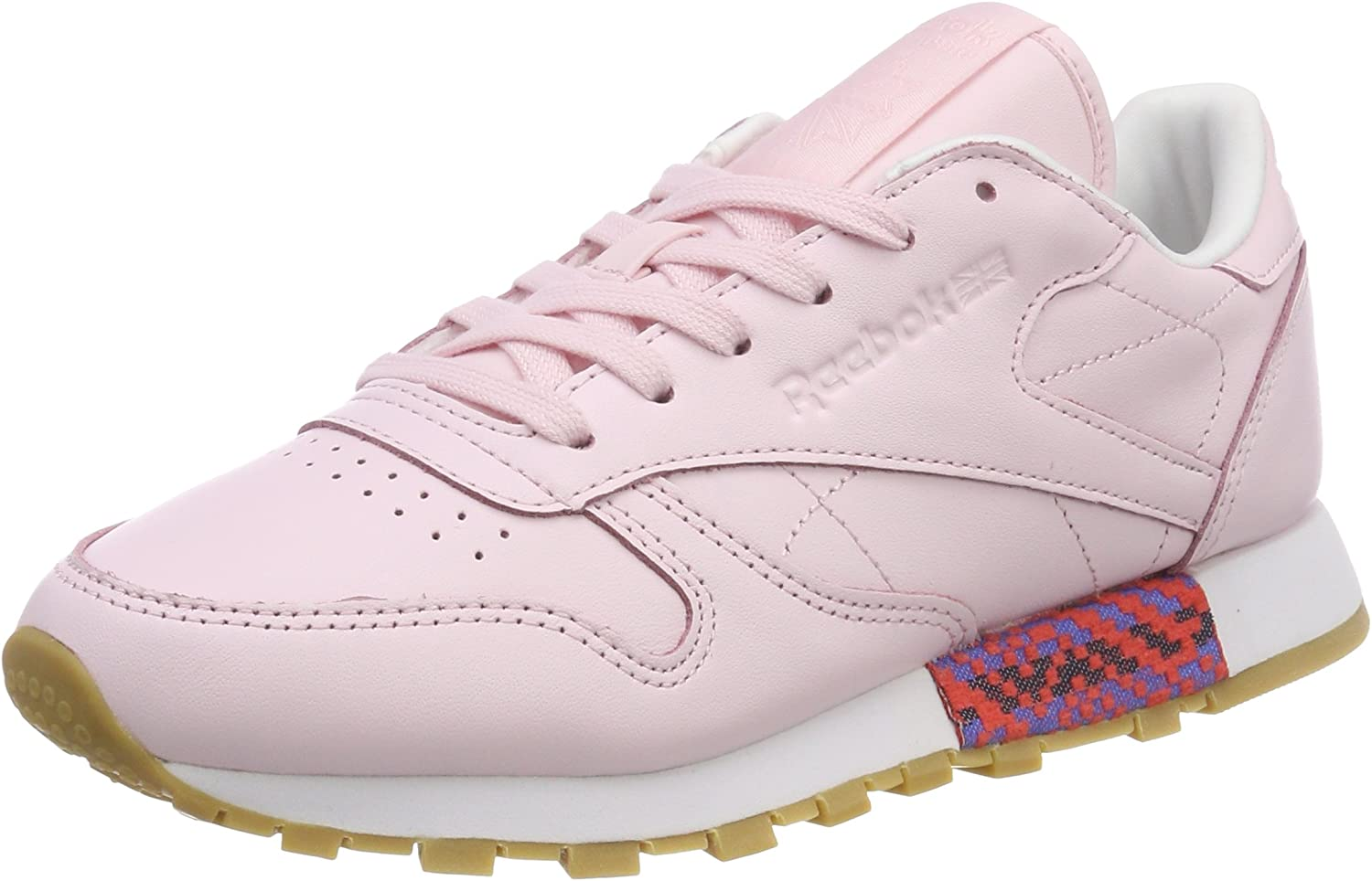 Reebok Classic Womens Leather Sneakers Old Meets New