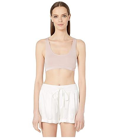 Skin Solange Pima Cotton Crop Top (Rose Dust) Women