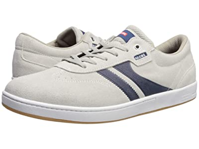 Globe Empire (Mist Shaved Suede/Blue) Men
