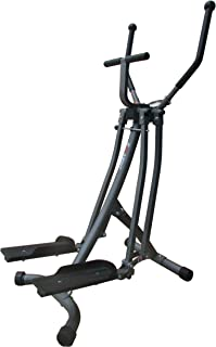 EFITMENT Air Walker Glider Elliptical Machine with Side Sway Action & 360 Motion for Exercise and Fitness