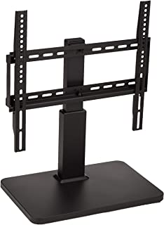 """AmazonBasics Pedestal TV Mount for 32-65"""" TV with Swivel feature, black"""
