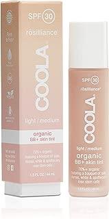 COOLA Rosilliance Mineral BB+ Cream Tinted Organic Sunscreen, Broad Spectrum SPF 30, Vegan, Water-Resistant, Ultra-Moisturizing, Antioxidant Enriched