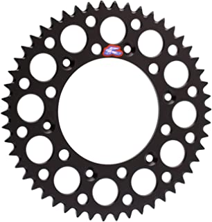 Renthal 224U-520-50GPBK Ultralight Black 50 Tooth Rear Sprocket