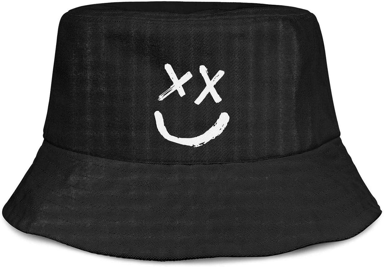 Max 84% OFF Soua Cotton Smile Face Bucket Max 74% OFF Hats Su Reversible Packable Unisex