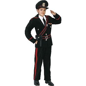 Vestito Carabiniere Bambino.Costume Vestito Di Carnevale Da Carabiniere In Divisa 5 7 Anni Amazon It Giochi E Giocattoli