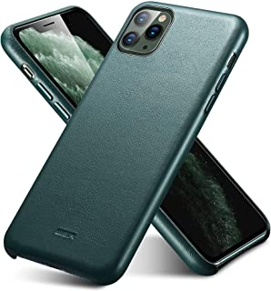 ESR Premium Real Leather Case Compatible with iPhone 11 Pro Max - Slim Full Leather Phone Case [Supports Wireless Charging] [Scratch-Resistant] Protective Case for iPhone 11 Pro Max 6.5