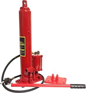 Voyager Tools 8 TON Air/Hydraulic Long Arm Ram Jack with Removable Base
