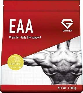 グロング EAA アミノ酸 グレープフルーツ風味 1kg (100食分) 必須アミノ酸 国産