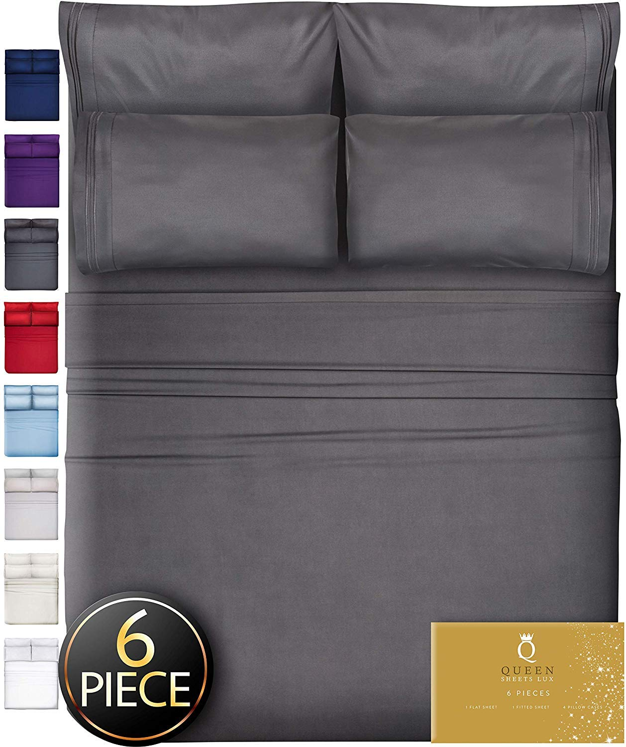 Piece King Size Sheets Pockets