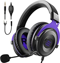 EKSA E900 Xbox Gaming Headset-Stereo Headset Wired Gaming Headphones with Noise Canceling Mic, Over Ear Headphones Compati...