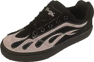 Sha Sha Shoe Suede SK8 Flame Black Grey 11