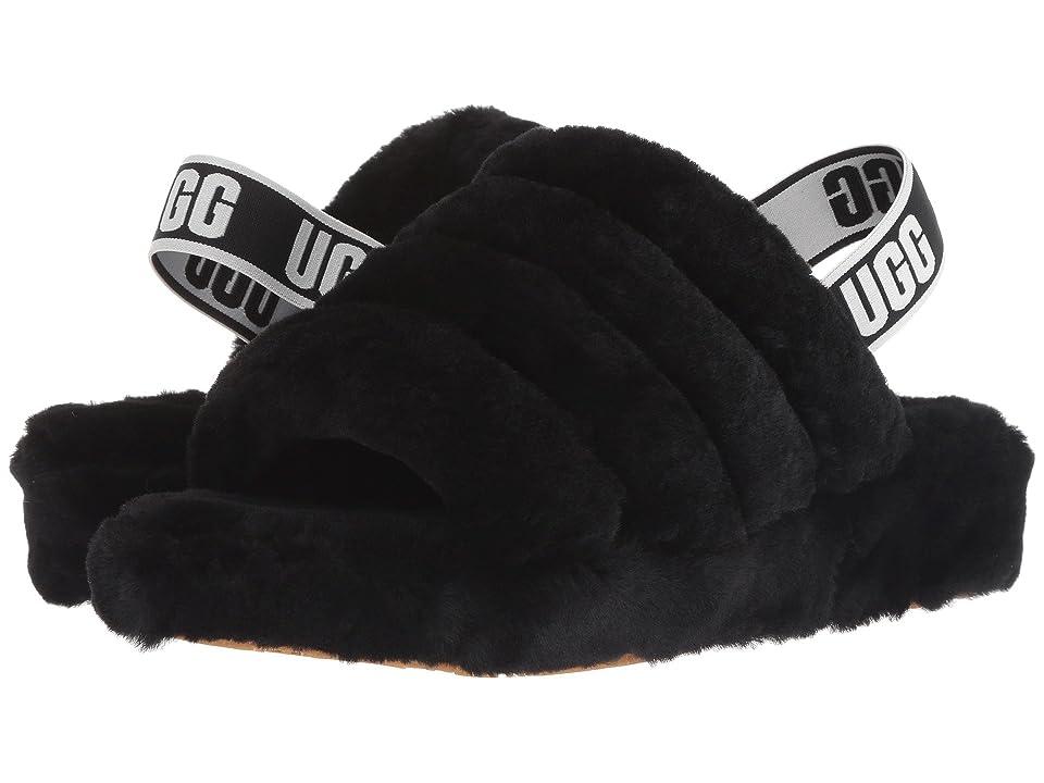 UGG Fluff Yeah Slide (Black) Women