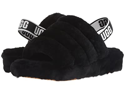 UGG Fluff Yeah Slide (Black) Women