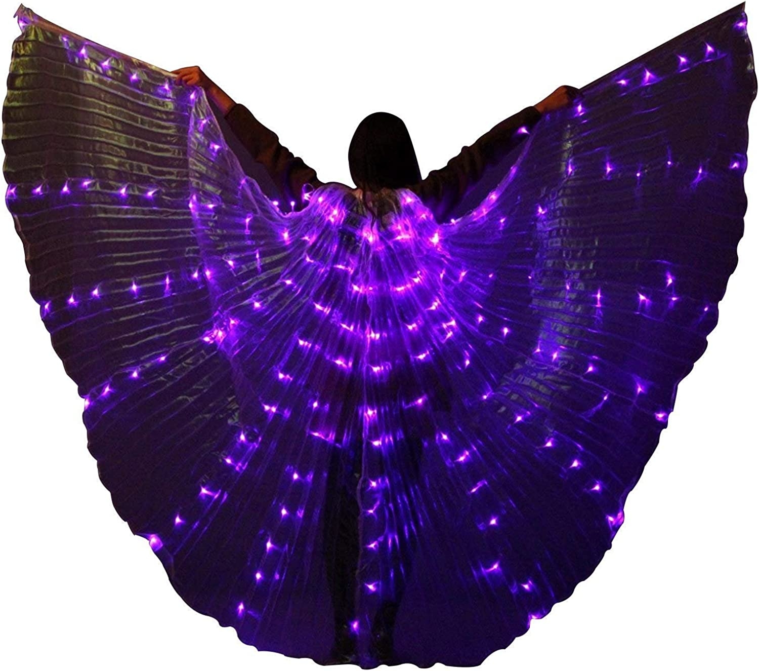GUOCHU Adult Stage LED ISIS ! Super beauty product restock quality top! Wings Party Dance Lig Club Gifts Belly for