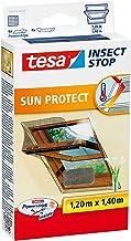 Tesa Vliegengaas voor dakramen, met zonwering, beste tesa kwaliteit, 1,2 m x 1,4 m