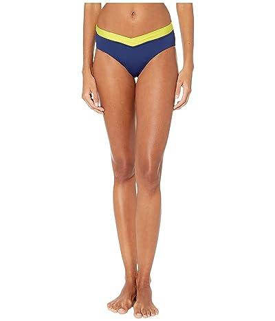 Seafolly In the Loop Retro V Front Pant Bikini Bottoms (Blue Opal) Women