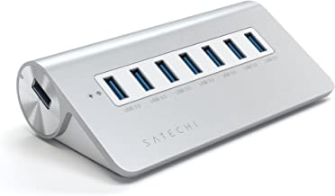 Satechi 7 Port USB 3.0 Premium Aluminum Hub (White Trim)