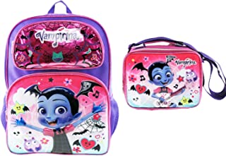 Vampirina Deluxe 3D 16 inch Backpack with Insulated Lunch Box