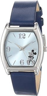 ساعة ديزني MK1043 ميكي ماوس زرقاء فاتحة بسوار كحلي