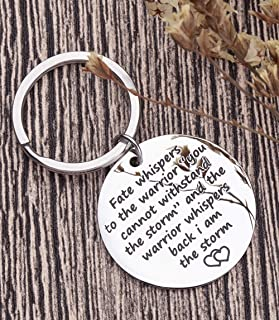 Encouragement Keychain For Teen Girls Boys Women Men Motivational Inspirational Gifts I Am The Storm Key Chain For Teenage...