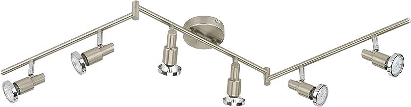 Briloner lamp, spotlights, led Spots, Ceiling Lights Bedroom, Metal, GU10, 3 W, Matt-Nickel