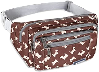 ZOMAKE Fanny Pack for Men Women, Water Resistant Waist Bag - Outdoors Workout Travel Casual Hiking Cycling with Large Comp...