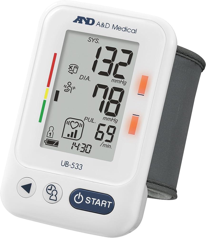 A&d medical ub-533, misuratore di pressione da polso, validato clinicamente 5060006581540