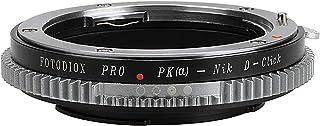 Fotodiox Anillo Adaptador para Pentax K (PK Mount) Lente para Cámara Nikon