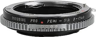 Fotodiox Pro Lens Mount Adapter Compatible with Pentax K AF (KAF) Lenses to Nikon F-Mount Cameras