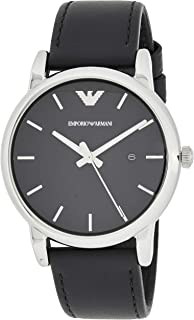 Emporio Armani Wrist Watch For Men, Black, AR1692
