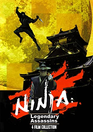 Ninja Legendary Assassins 4 Film Set Reino Unido DVD: Amazon ...